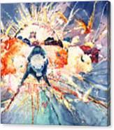 Buffalo Spirits Canvas Print