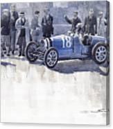 Bugatti 35c Monaco Gp 1930 Louis Chiron  Canvas Print