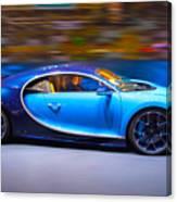 Bugatti Chiron 2 Canvas Print