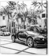 Bugatti Chiron 5 Canvas Print