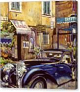 Bugatti Canvas Print
