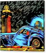 Bugatti Type 57 Atlantic 1930ies Canvas Print