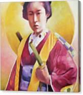 Bugeisha One Canvas Print