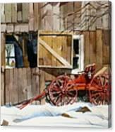 Buggy 'n Barn Canvas Print