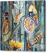 Bugs N Bamboo Canvas Print
