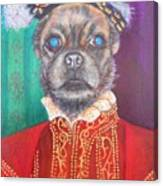 Bugsy First Earl Of Primrose Canvas Print
