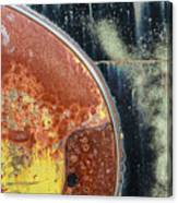 Buick Fender Abstract Canvas Print
