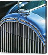 Buick Grill And Hood Ornament Canvas Print
