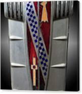 Buick Grill Emblem Canvas Print