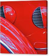 Buick Lasalle Portholes And Fender #3 Canvas Print