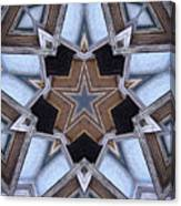 Building A Star Canvas Print