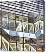 Building Closeup In Manhattan 10 Canvas Print
