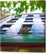 Building Closeup In Manhattan 17 Canvas Print