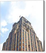 Building Closeup In Manhattan 2 Canvas Print