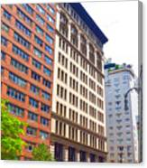 Building Closeup In Manhattan 5 Canvas Print