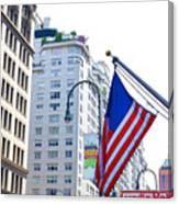 Building Closeup In Manhattan 9 Canvas Print