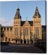 Building Exterior Of Rijksmuseum. Amsterdam. Holland Canvas Print
