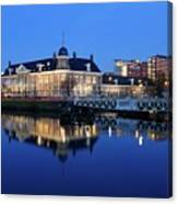 Building Of The Royal Dutch Mint In Utrecht 19 Canvas Print