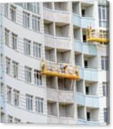 Building Workers Canvas Print