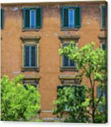 Buildings Opposite The Vatican Museum Canvas Print