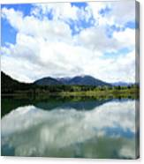 Bull Lake Reflection Canvas Print