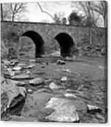 Bull Run Bridge Canvas Print