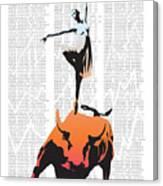 Bullerina Canvas Print