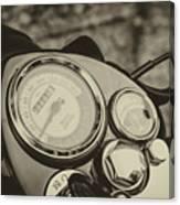 Bullet Speedometer Canvas Print