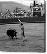 Bullfighting 36b Canvas Print