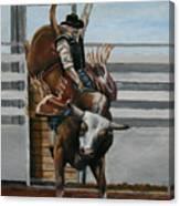 Bullrider Canvas Print