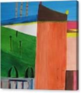 Bullring - Plaza De Toro. Canvas Print