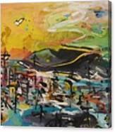Bummer Flat2 Canvas Print