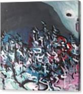 Bummer Flat7 Canvas Print