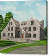 Bunch House Canvas Print