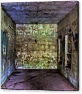 Bunker Walls Canvas Print