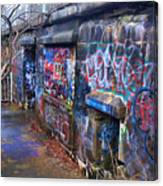 Bunkers Of Ft Wetherill Canvas Print