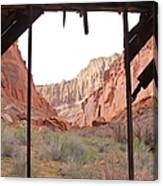 Bunkhouse View 2 Canvas Print