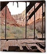 Bunkhouse View 4 Canvas Print