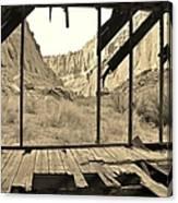 Bunkhouse View 5 Canvas Print