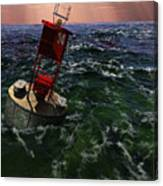 Buoy 14 Canvas Print