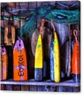 Buoys For Sale  Canvas Print