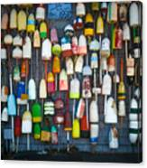 Buoys, Martha's Vineyard Canvas Print