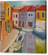 Burano Canvas Print