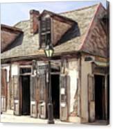 Burbon Street Blacksmith Canvas Print