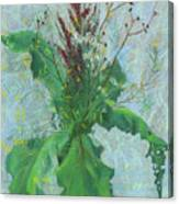 Burdock Leaves  Canvas Print