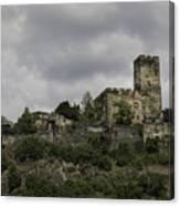 Burg Gutenfels 03 Canvas Print