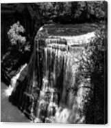 Burgess Lower Falls 2 Canvas Print