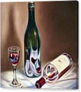 Burgundy Still Canvas Print