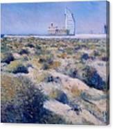 Burj Al Arab Hotel United Arab Emirates 2002  Canvas Print