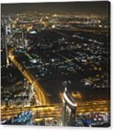 Burj Khalifa Dubai Canvas Print